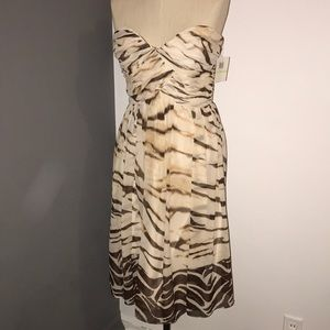 Donna Morgan 100% silk dress